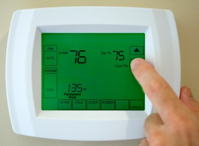 Thermostat service by Celestial Air HVAC, LLC